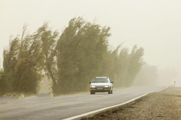 خیزش گرد و خاک درخوزستان,اخبار اجتماعی,خبرهای اجتماعی,وضعیت ترافیک و آب و هوا
