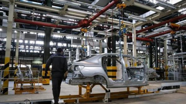 افت۴۲ درصدی تولید خودرو