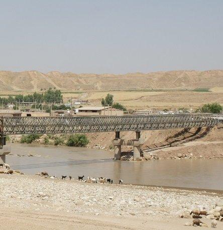 طولانیترین پل فلزی در چم مهر افتتاح شد