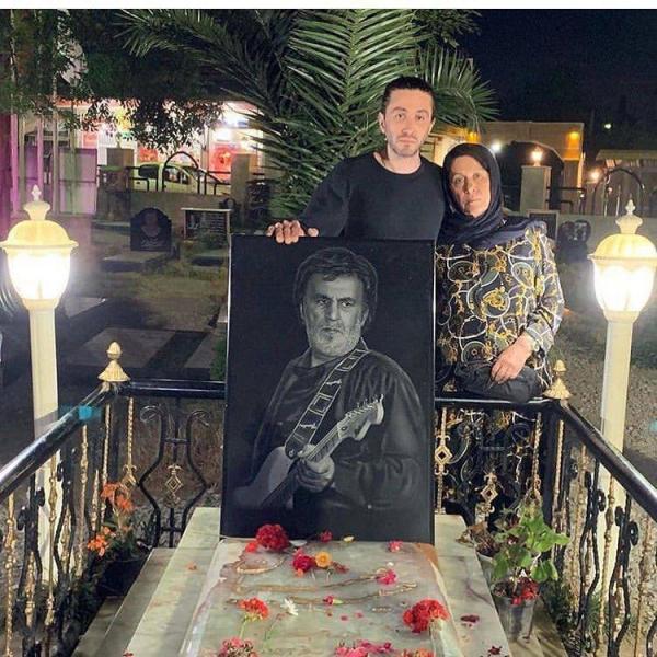 پسر و همسر حبیب محبیان,اخبار هنرمندان,خبرهای هنرمندان,بازیگران سینما و تلویزیون
