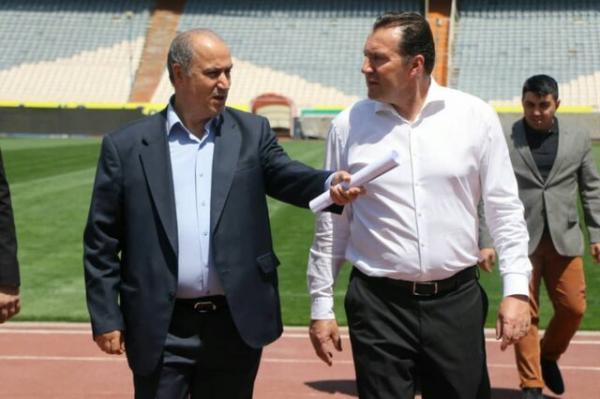 مهدی تاج و مارک ویلموتس,اخبار فوتبال,خبرهای فوتبال,فوتبال ملی