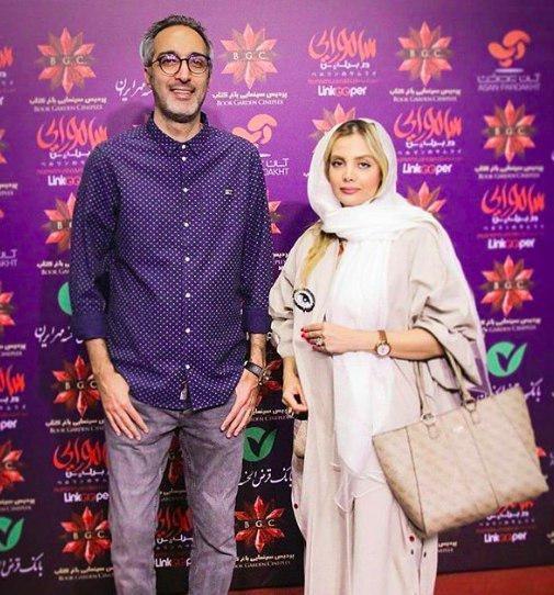 امیرمهدی ژوله و همسرش,اخبار هنرمندان,خبرهای هنرمندان,بازیگران سینما و تلویزیون