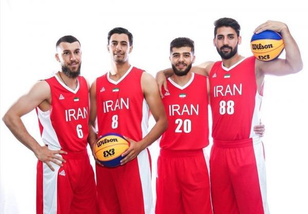 تیم بسکتبال سه نفره مردان ایران,اخبار ورزشی,خبرهای ورزشی,والیبال و بسکتبال