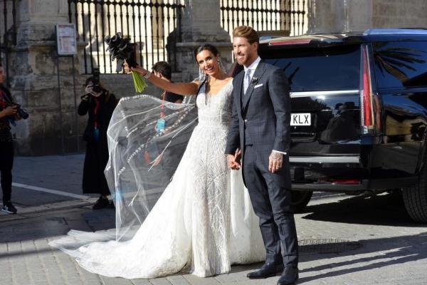 مراسم ازدواج سرخیو راموس,اخبار فوتبال,خبرهای فوتبال,اخبار فوتبالیست ها