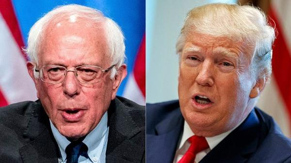 برنی سندرز و دونالد ترامپ,اخبار سیاسی,خبرهای سیاسی,اخبار بین الملل