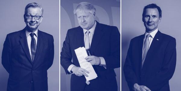 «بوریس جانسون» همچنان در صدر رقابت برای نخستوزیری انگلیس