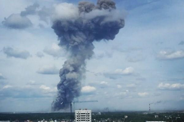 انفجار در کارخانه مواد منفجره زیرژینسک روسیه,کار و کارگر,اخبار کار و کارگر,حوادث کار