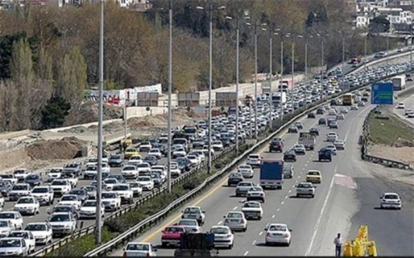 وضعیت ترافیک در جاده های کشور,اخبار اجتماعی,خبرهای اجتماعی,وضعیت ترافیک و آب و هوا