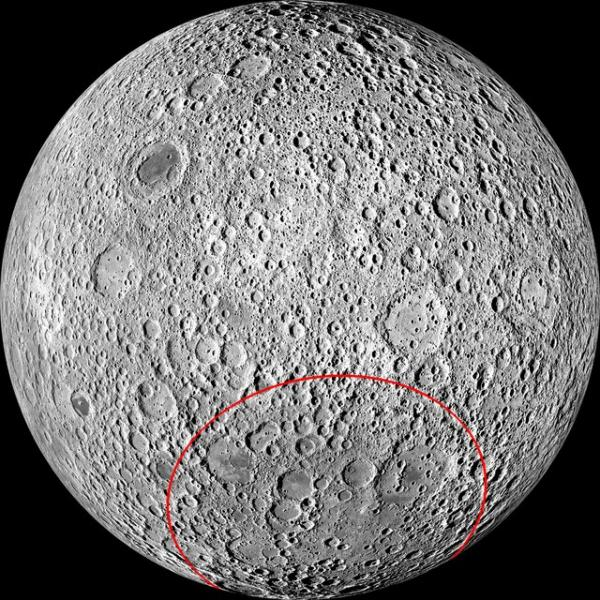 کشف فلز در قدیمی ترین دهانه ماه,اخبار علمی,خبرهای علمی,نجوم و فضا