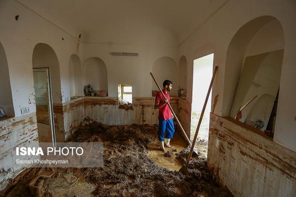 تصاویر سیلاب در شرق اصفهان,تصاویر خسارت سیل در شرق اصفهان,عکس هاس سیلاب اصفهان در انتهای بهار