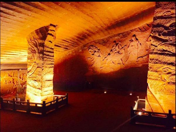 غار باستانی لانگیو در چین,اخبار جالب,خبرهای جالب,خواندنی ها و دیدنی ها
