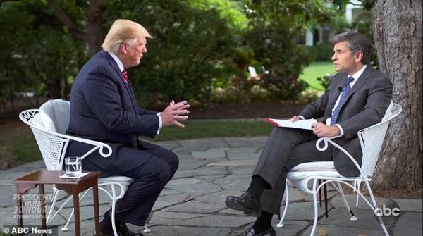 مصاحبه دونالد ترامپ با شبکه ایبیسی,اخبار اقتصادی,خبرهای اقتصادی,بورس و سهام