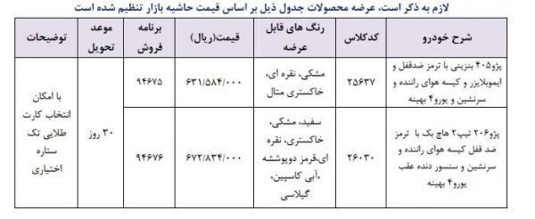 فروش فوری محصولات ایران خودرو,اخبار خودرو,خبرهای خودرو,بازار خودرو
