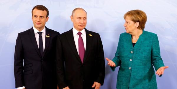 رهبران روسیه، آلمان و فرانسه,اخبار سیاسی,خبرهای سیاسی,سیاست خارجی