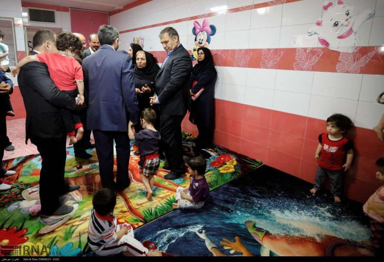 تصاویر مراسم گلریزان در شیرخوارگاه آمنه,عکس های مراسم گلریزان در شیرخوارگاه آمنه, تصاویر شیرخوارگاه آمنه