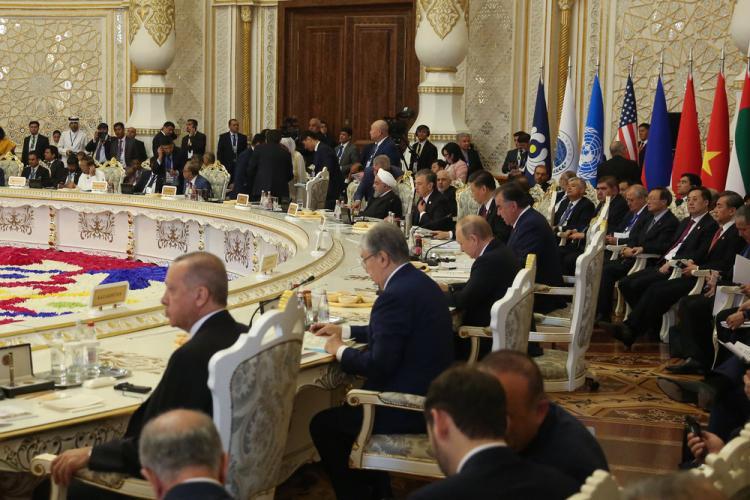 تصاویر پنجمین نشست سران کنفرانس تعامل و اقدامات اعتمادساز در آسیا,عکس های دکتر حسن روحانی,تصاویر رئیس جمهور ایران در تاجیکستان