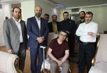 حضور مدیران تلویزیون در منزل رضا رویگری,اخبار صدا وسیما,خبرهای صدا وسیما,رادیو و تلویزیون