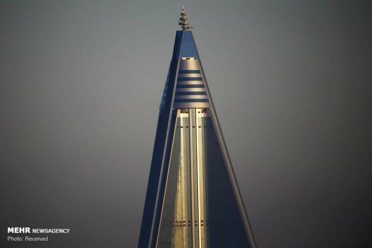 تصاویر ساختمان های کره شمالی,عکس های معماری در کره شمالی,تصاویر سازه های کره شمالی