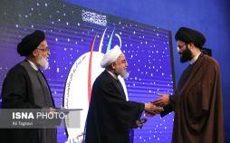 تصاویر دوازدهمین کنگره ملی تجلیل از ایثارگران,عکس های حسن روحانی,تصاویر رییس جمهور ایران در سالن اجلاس