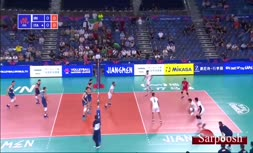 فیلم/ خلاصه دیدار والیبال ایران 3-1 ایتالیا (لیگ ملت های والیبال 2019)