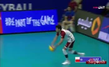 فیلم/ خلاصه دیدار والیبال ایران 3-2 لهستان (لیگ ملت های والیبال 2019)