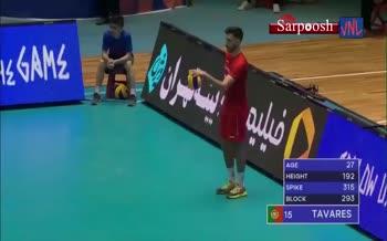 فیلم/ خلاصه دیدار والیبال ایران 3-1 پرتغال (لیگ ملت های والیبال 2019)