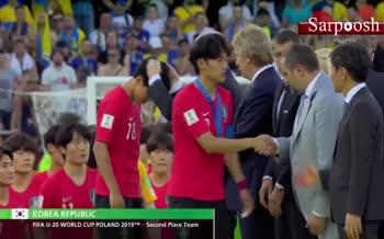 فیلم/ مراسم اهدای جام قهرمانی جام جهانی زیر 20 سال 2019