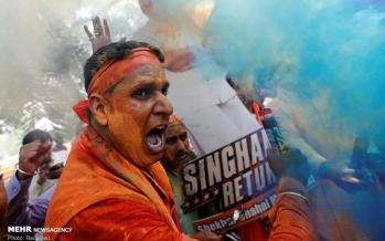 تصاویر انتخابات پارلمانی هند,عکس های مردمان هند,تصاویر سیاسی