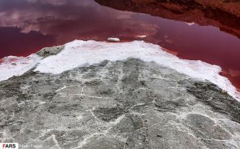 تصاویر دریاچه مهارلو,عکس های دیدنی های ایران,تصاویر دریاچه ای زیبا در شیراز