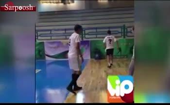 فیلم/ شکست عادل فردوسیپور مقابل حسین طیبی در کلکل فوتبالی