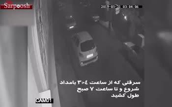 فیلم/ خونسردترین سارقان منازل در تهران!