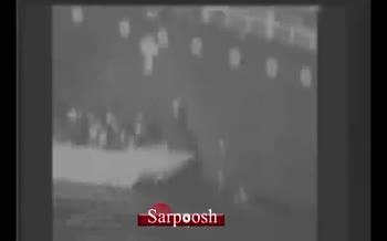 فیلم سنتكام از قایق تندرو ایرانی در كنار نفتكش