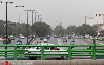 تصاویر وضعیت آب و هوای اصفهان,عکس های وضعیت آب و هوای اصفهان,تصاویرافزایش گرد و غبار در اصفهان