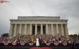 تصاویر مراسم سالروز استقلال آمریکا در حضور ترامپ,عکس های رژه ارتش آمریکا در مراسم 4 جولای,عکس های ترامپ در مراسم سالروز استقلال آمریکا
