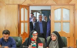 تصاویر نشست خبری گام دوم کاهش تعهدات ایران در برجام,عکس های نشست خبری درباره برجام,تصاویر نشست اقدامات ایران در برابر برجام
