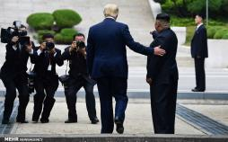 تصاویر دونالد ترامپ و کیم جونگ اون,عکس های رئیس جمهور آمریکا,تصاویر رهبر کره شمالی