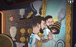 کاریکاتور لیونل مسی در کوپا آمریکا 2019,کاریکاتور,عکس کاریکاتور,کاریکاتور ورزشی