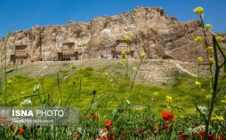تصاویر مجموعه باستانی نقش رستم,عکس های اثر تاریخی روستای زنگی آباد فارس,عکس های مجموعه نقش رستم