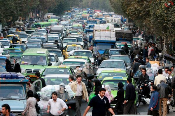 نامطلوب شدن هوای بیشتر مناطق تهران,اخبار اجتماعی,خبرهای اجتماعی,وضعیت ترافیک و آب و هوا