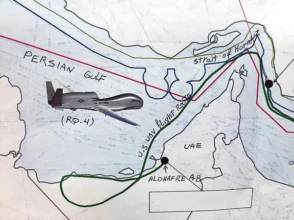 سقوط پهپاد آمریکا در خلیج فارس,اخبار اقتصادی,خبرهای اقتصادی,نفت و انرژی