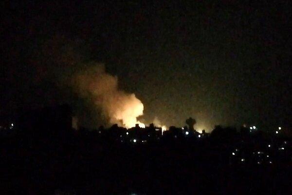 بمباران هوایی پایتخت سوریه,اخبار سیاسی,خبرهای سیاسی,خاورمیانه