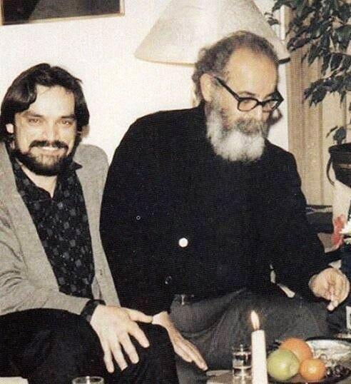 حسین علیزاده و امیر هوشنگ ابتهاج,اخبار هنرمندان,خبرهای هنرمندان,موسیقی