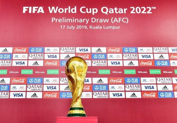 برگزاری مراسم قرعهکشی مرحله دوم انتخابی جام جهانی ۲۰۲۲/ ایران باز هم با عراق همگروه شد / عکس