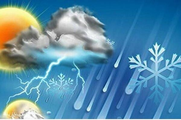گرمای ۵۰ درجه در جنوب و رگبار و رعد و برق در شمال خوزستان