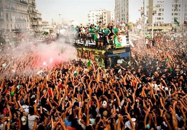 استقبال از تیم ملی الجزایر,اخبار فوتبال,خبرهای فوتبال,اخبار فوتبال جهان