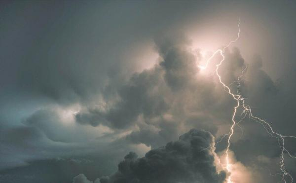 رعد و برق در برخی مناطق کشور,اخبار اجتماعی,خبرهای اجتماعی,وضعیت ترافیک و آب و هوا
