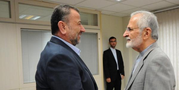 صالح العاروری و کمال خرازی,اخبار سیاسی,خبرهای سیاسی,سیاست خارجی