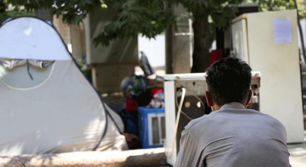 خانه به دوشان آبرومند/ حکایتی تلخ از چادرنشینی شهری /تصاویر