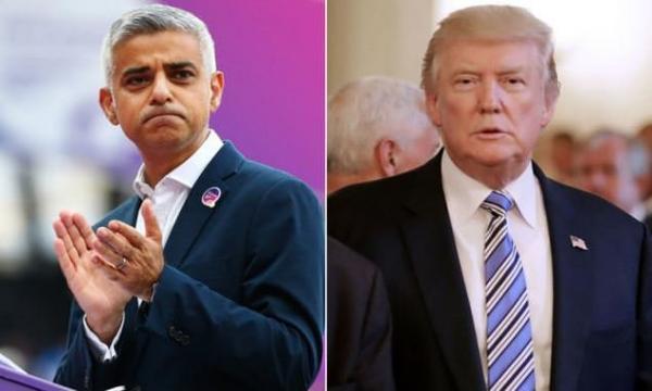 دونالد ترامپ و صادق خان,اخبار سیاسی,خبرهای سیاسی,اخبار بین الملل