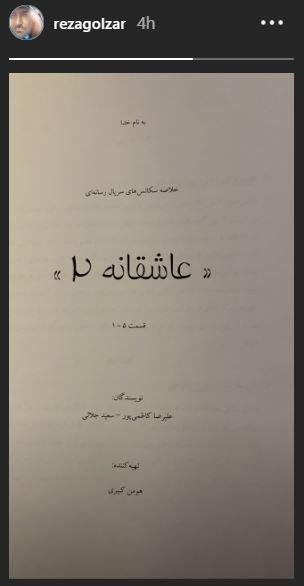 محمدرضا گلزار,اخبار فیلم و سینما,خبرهای فیلم و سینما,شبکه نمایش خانگی